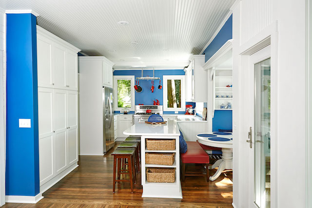 Bright Marine on St. Croix kitchen