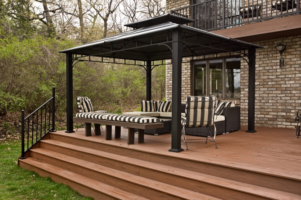 Deck featuring Trex decking and Wentworth Railing