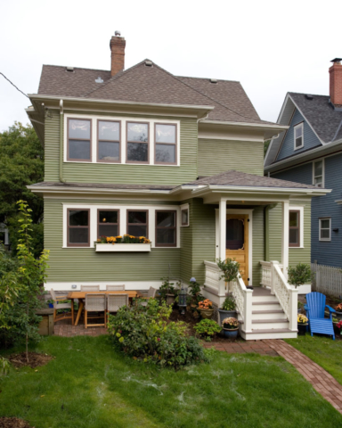 Addition on 1912 house