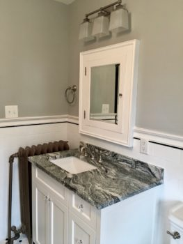 custom comfort height vanity