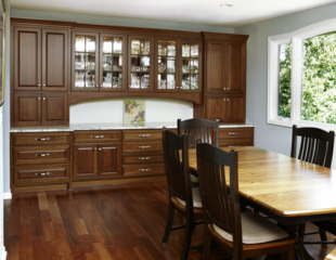 Furniture quality built in Plymouth kitchen