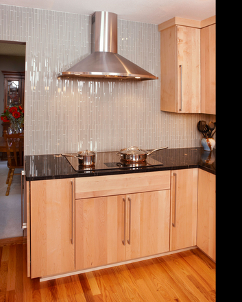Eden Prairie kitchen with counter to ceiling tile