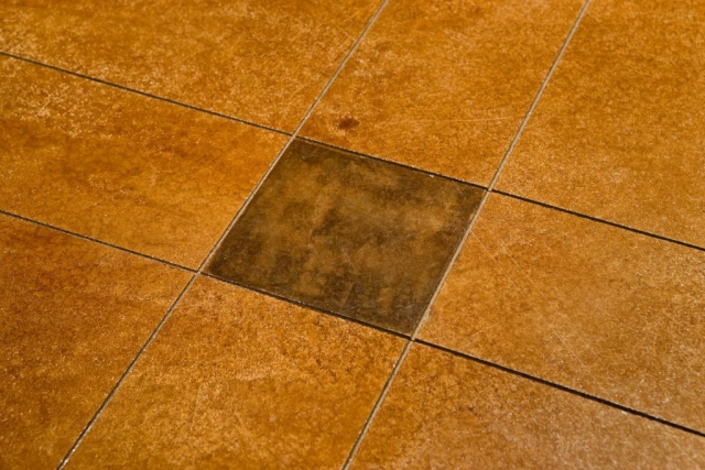 North Star Lofts - decorative concrete floor photo