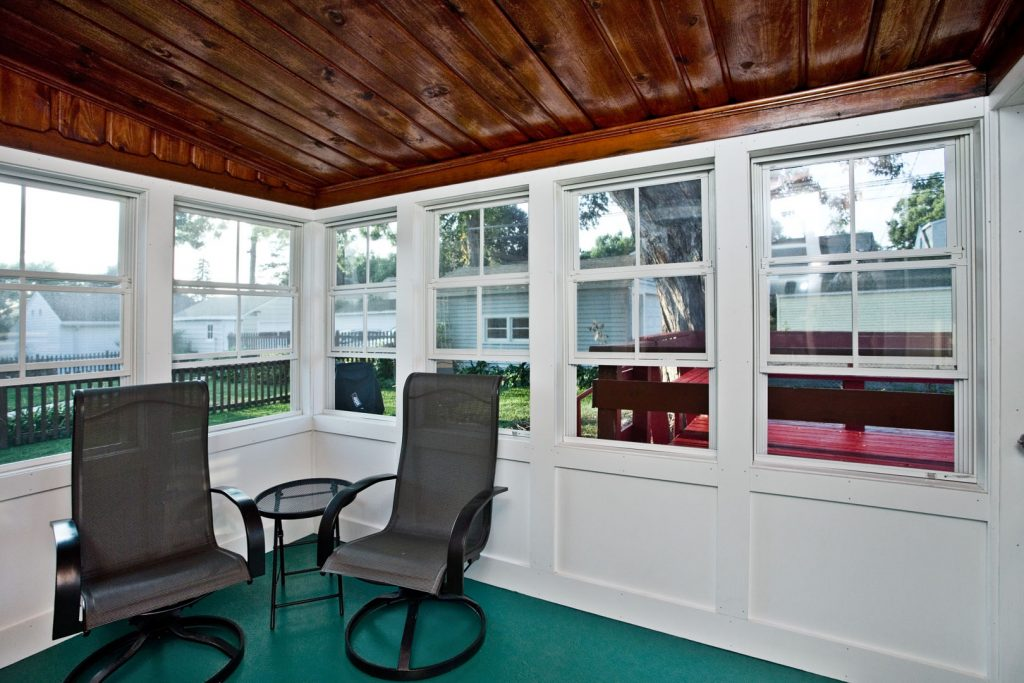 3-season porch interior