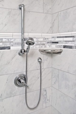 Adjustable hand shower