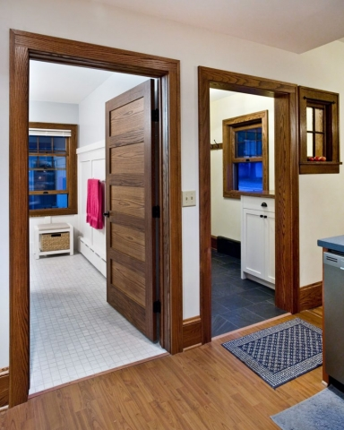 Mudroom and bathroom addition